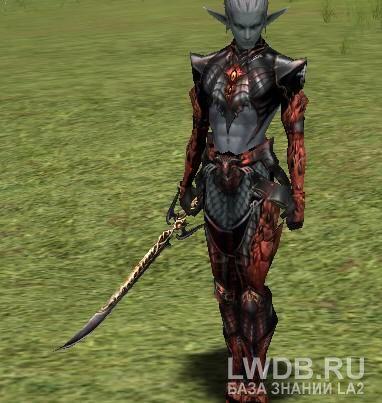 Кинжал Темных Эльфов - Dark Elven Dagger