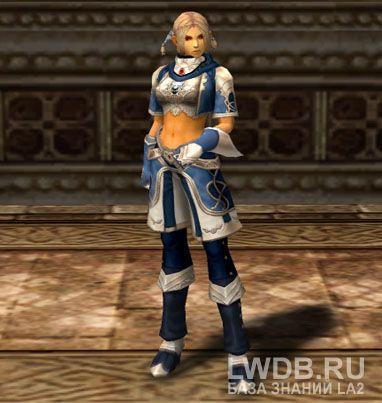 Кожаный Доспех Синего Волка - Blue Wolf Leather Armor