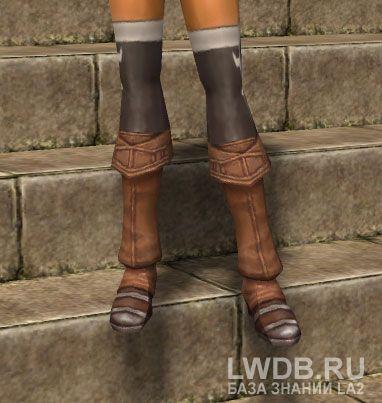 Панцирные Сапоги - Brigandine Boots