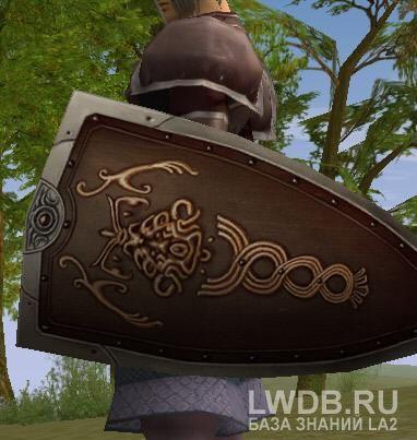 Панцирный Щит - Brigandine Shield