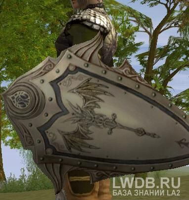 Полный Латный Щит - Full Plate Shield