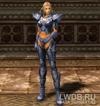 Кираса Синего Волка - Blue Wolf Breastplate
