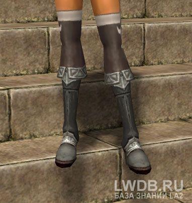 Простые Сапоги - Low Boots