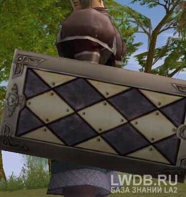 Прямоугольный Щит - Square Shield