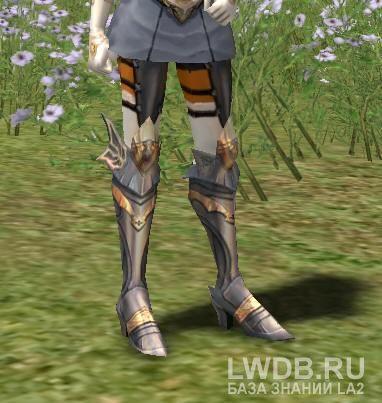 Запечатанные Сапоги Имперского Крестоносца - Sealed Imperial Crusader Boots