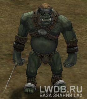 Боец Орков - Orc Fighter