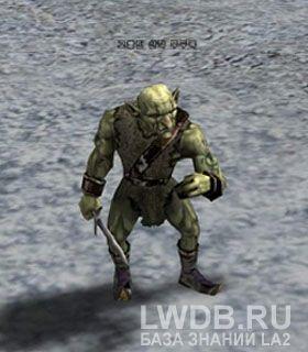 Лейтенант Банды Гоблинов - Goblin Brigand Lieutenant