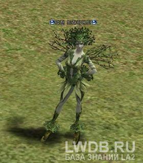 Зеленая Дриада - Green Dryad