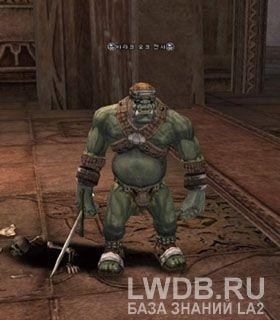 Боец Орков Барак - Baraq Orc Fighter