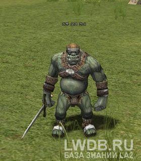 Боец Орков Кабу - Kaboo Orc Fighter