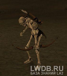 Костяной Кошмар Стрелок - Dragon Bearer Archer