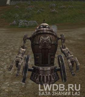 Ужасный Пушечный Голем I - Horrifying Cannon Golem I
