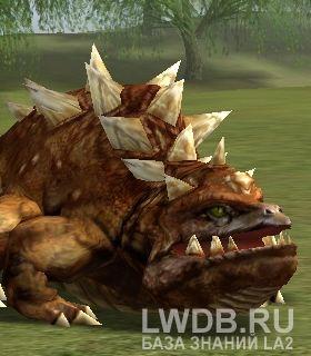 Гигантский Пустырный Василиск - Giant Wasteland Basilisk
