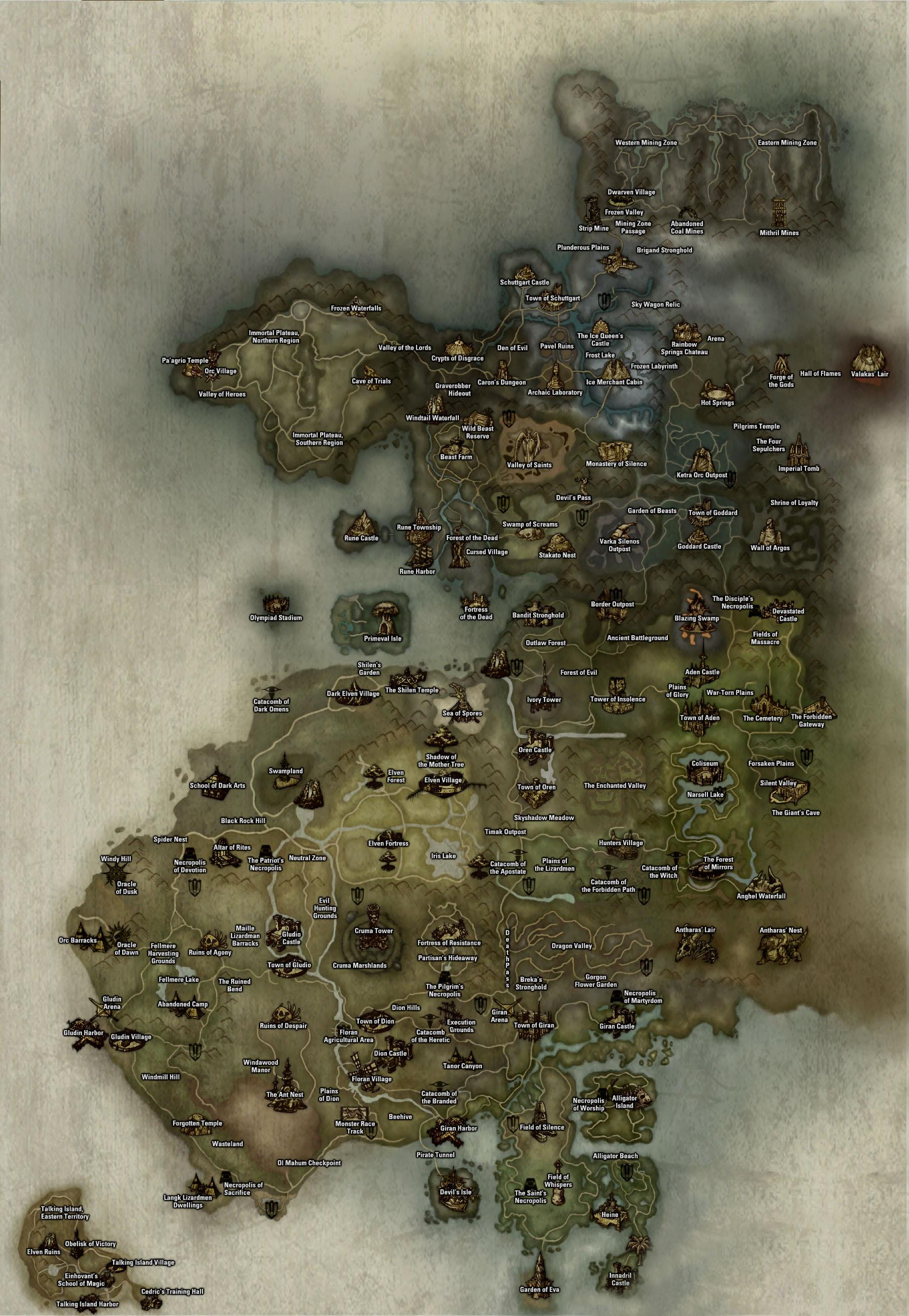 Disciples 2 Карты